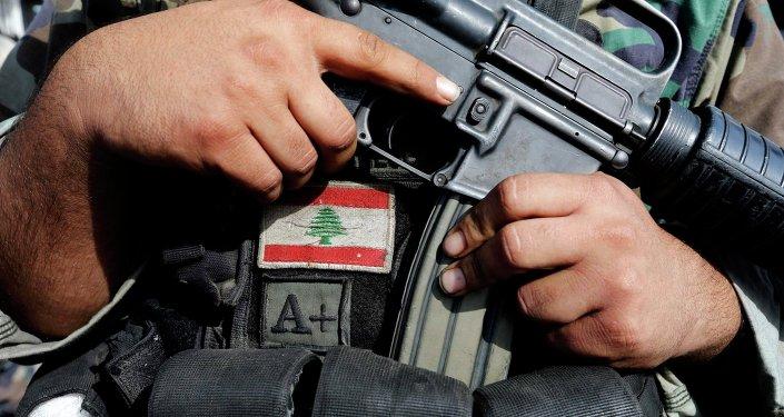 Soldado del ejército de Líbano