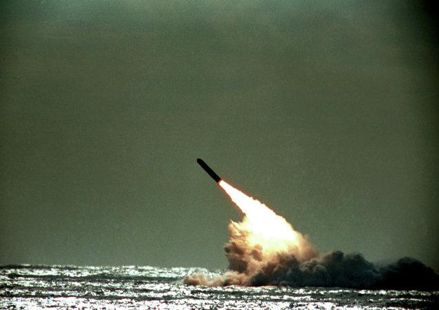 Lanzamiento de un misil Trident II