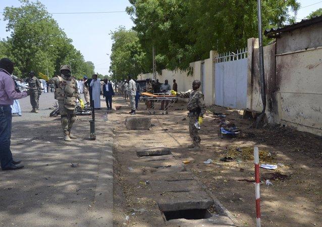 Atentado en Yamena, República de Chad