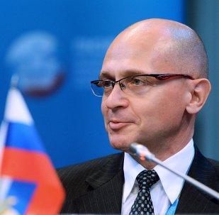 Serguéi Kirienko, director general de la corporación estatal Rosatom