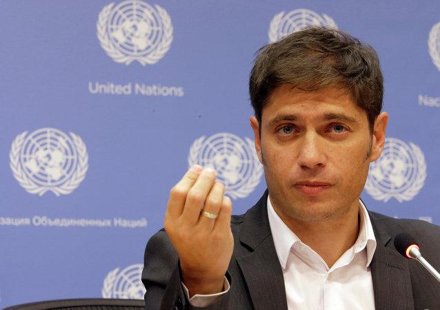 Axel Kicillof ministro de Economía de Argentina (archivo)