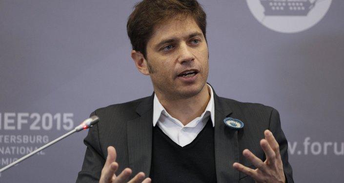 Axel Kicillof, titular de Economía de Argentina