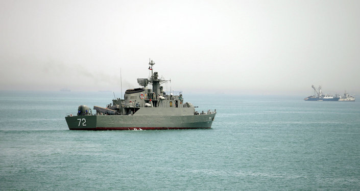 Destructor Alborz de las Fuerzas Navales de Irán (archivo)