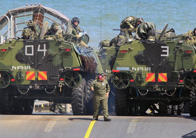 Tropas de la OTAN en el Mar Báltico (archivo)