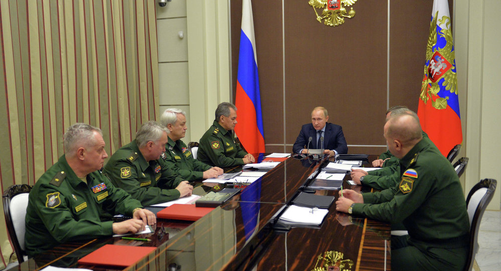 В.Путин провел совещание в Сочи