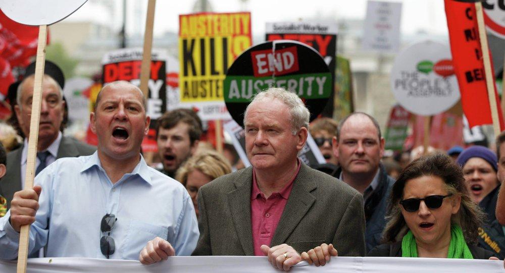 Martin McGuinness, viceministro principal y número dos de Sinn Fein
