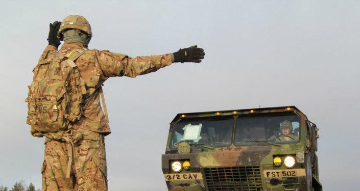 Equipo militar de EEUU fue entregado a Rukla, Lituania