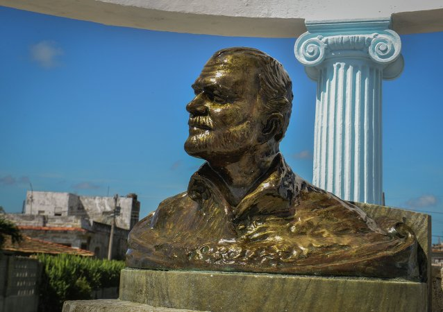 Monumento a Ernest Hemingway en La Habana