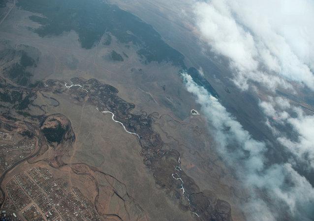 Los incendios forestales en Buriatia se extienden en más de diez veces
