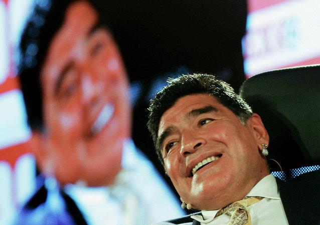 Diego Maradona (archivo)