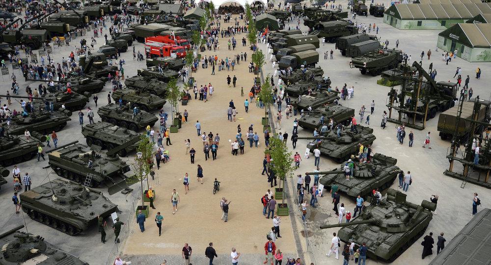 Foro técnico-militar Army 2015 (archivo)
