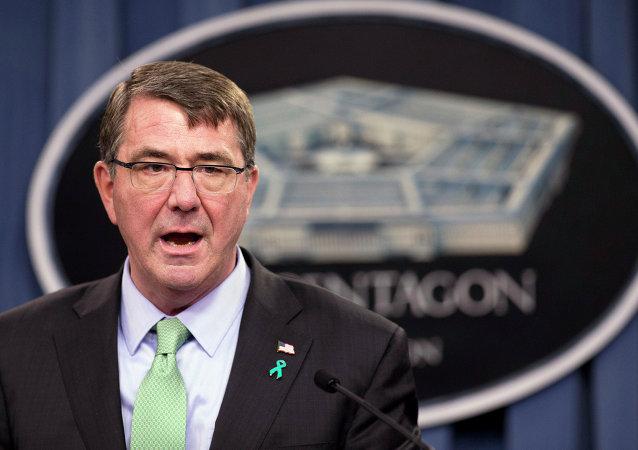El exsecretario de Defensa estadounidense, Ashton Carter