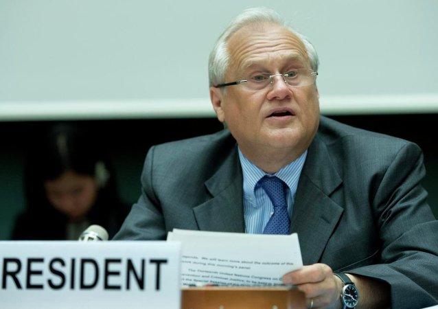 Martin Sajdik, emisario de la OSCE para Ucrania