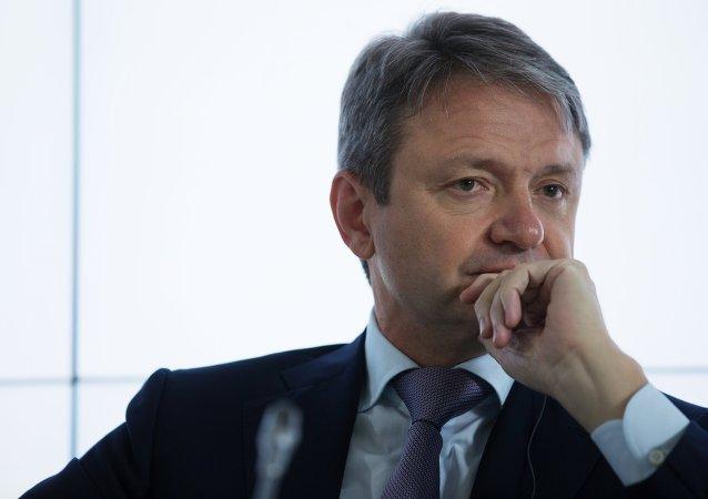 Alexandr Tkachov, ministro de Agricultura de Rusia