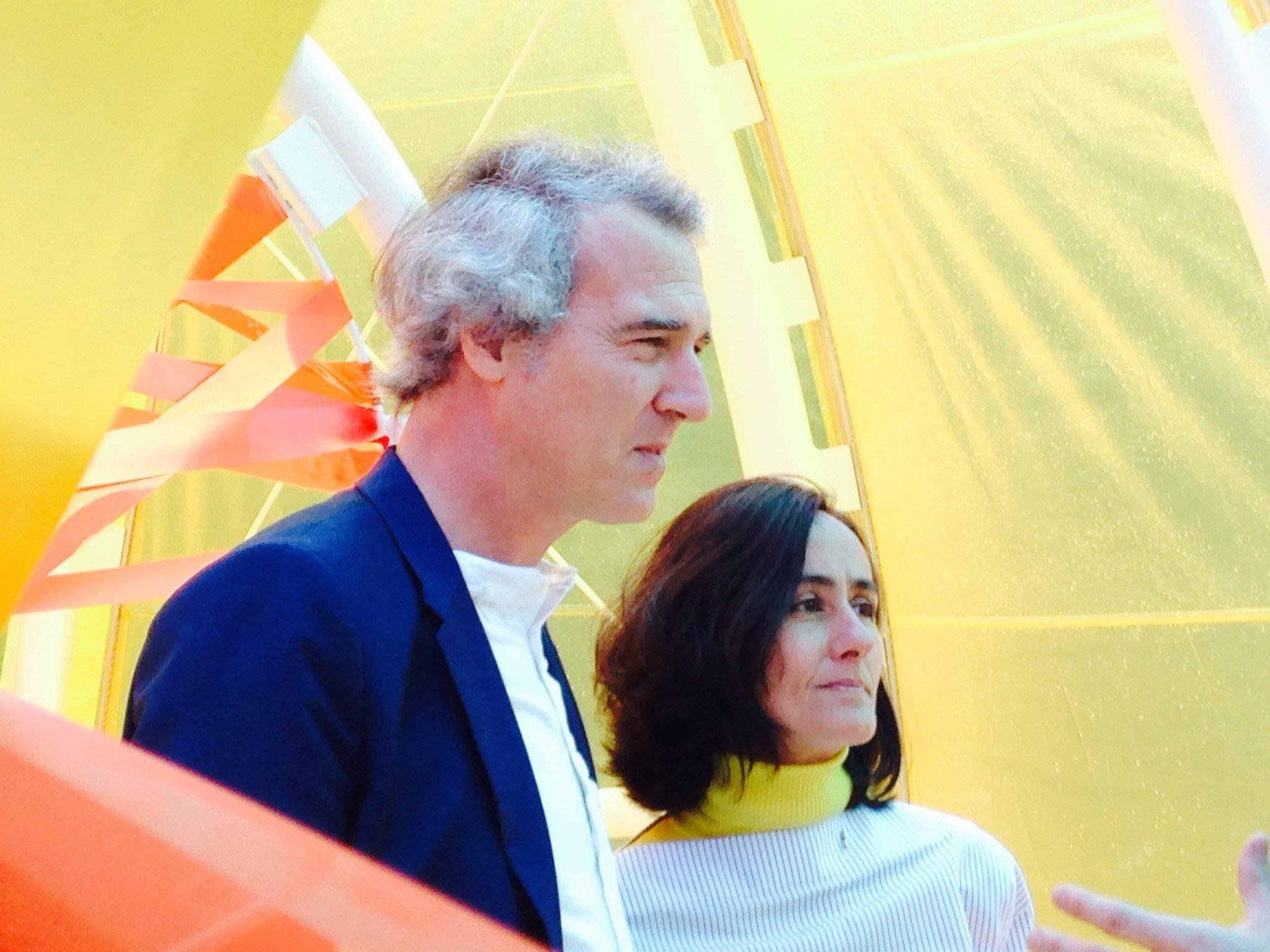 José Selgas y Lucía Cano