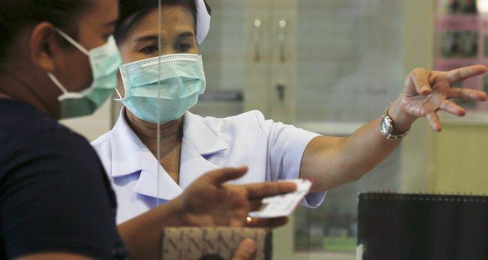 Una enfermera