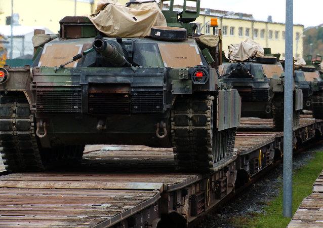 Tanques de EEUU
