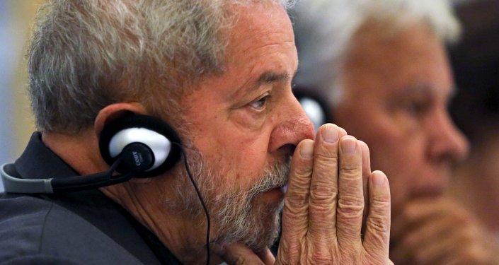 Expresidente de Brasil Lula da Silva