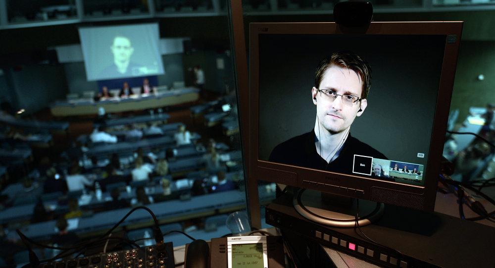 Edward Snowden, excolaborador de los servicios secretos de EEUU