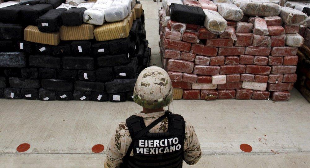 El narcotráfico, un pretexto para dominar a América Latina, dice Boudou