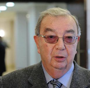 Evgueni Primakov, ex primer ministro y excanciller de Rusia