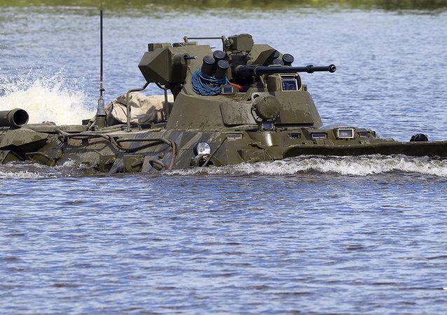 Vehículo blindado BTR-82A