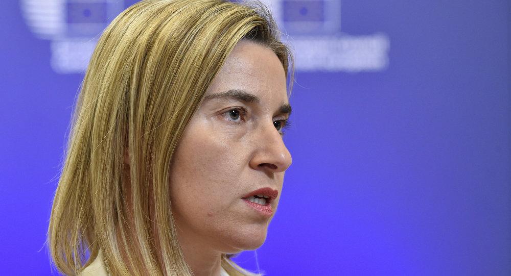 Federica Mogherini, alta representante de la UE para Asuntos Exteriores y Política de Seguridad