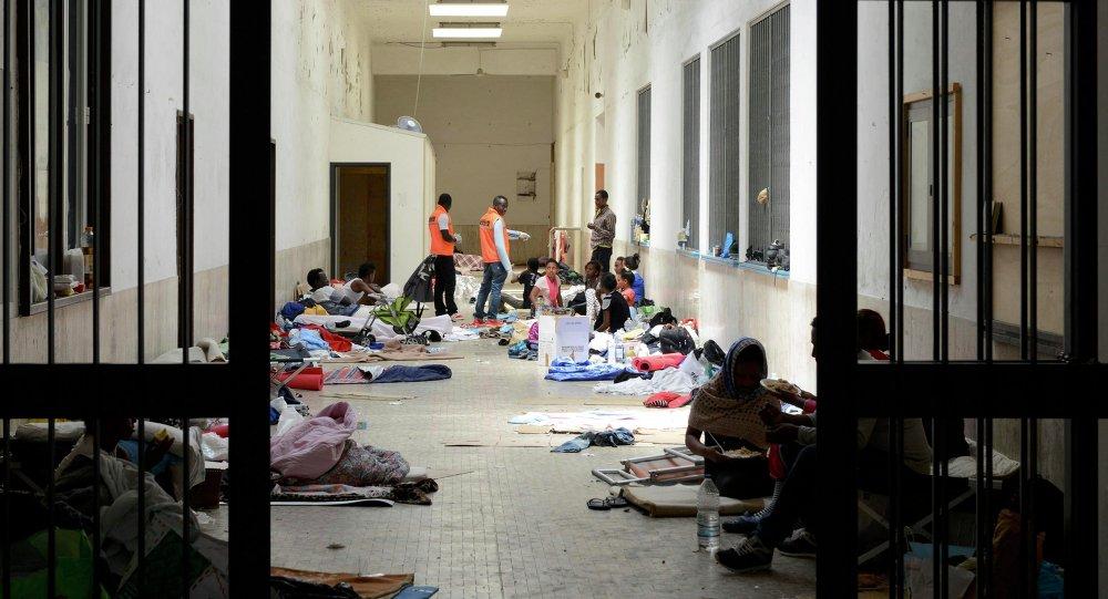 Refugiados africanos