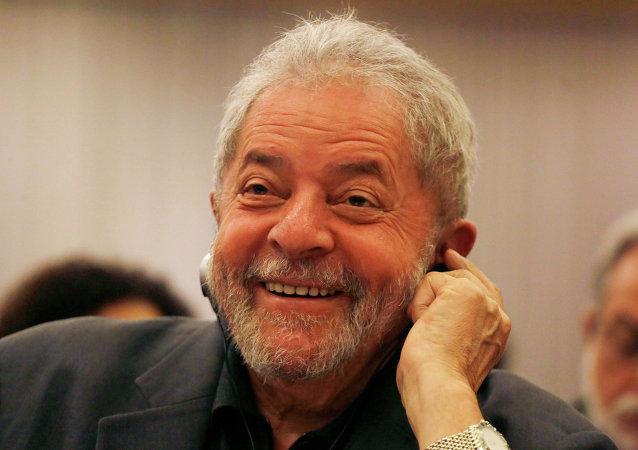 El expresidente de Brasil,  Lula da Silva