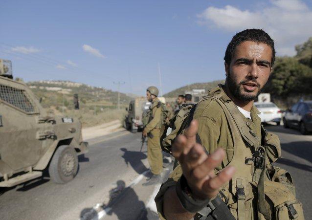 Soldado del ejército de Israel