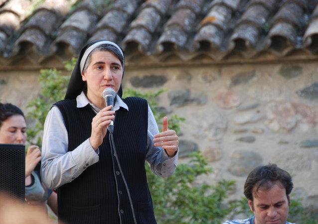 Teresa Forcades, monja española