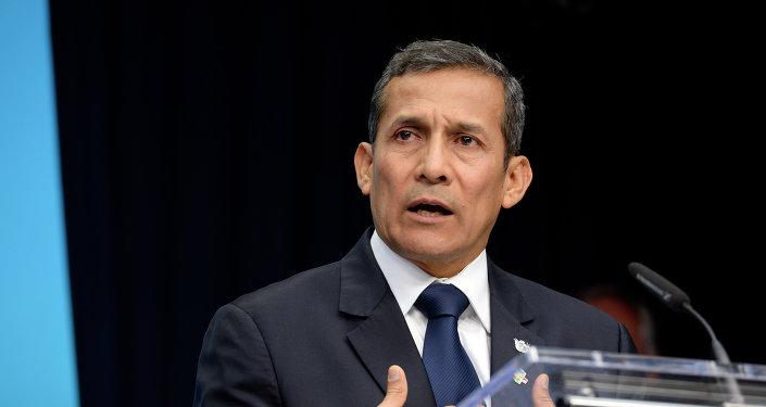 Ollanta Humala, expresidente de Perú (archvio)