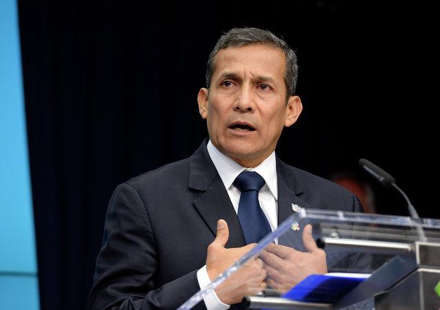 Ollanta Humala, ex presidente de Perú