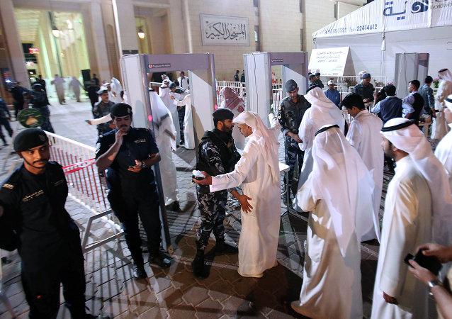 Policía kuwaití
