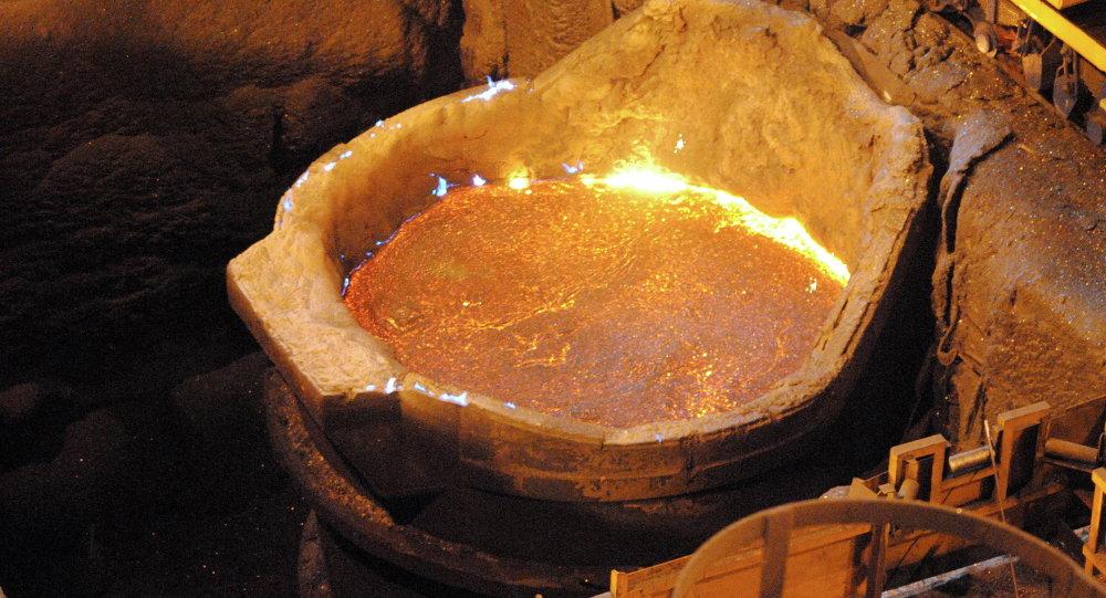 Empresa china estudia la calidad del hierro boliviano para su industrialización