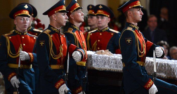Último adiós a Primakov, ex primer ministro y excanciller de Rusia