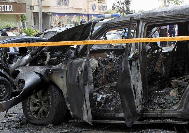 Atentado contra él fiscal general de Egipto, Hisham Barakat