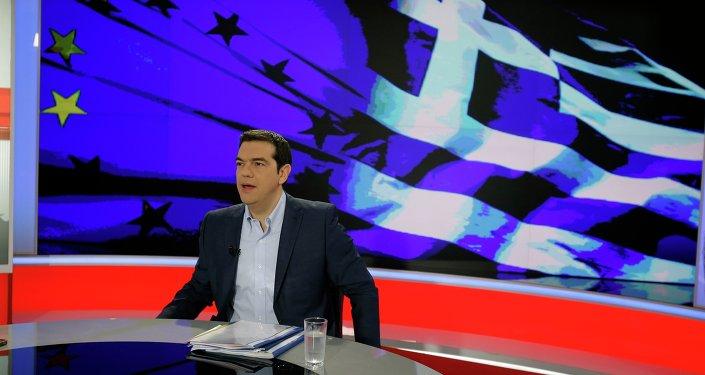 Alexis Tsipras, el primer ministro de Grecia