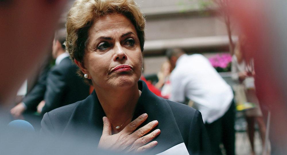 Dilma Rousseff, la presidenta de Brasil, en Nueva York