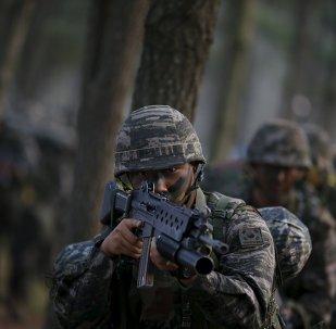 Militares surcoreanos (archivo)