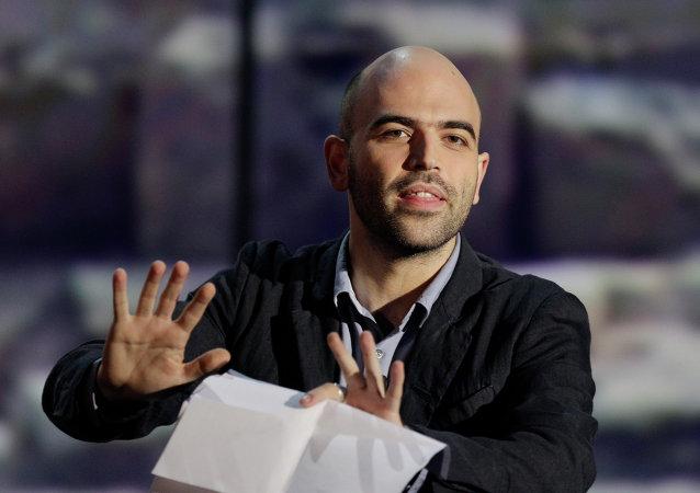 Roberto Saviano, escritor italiano