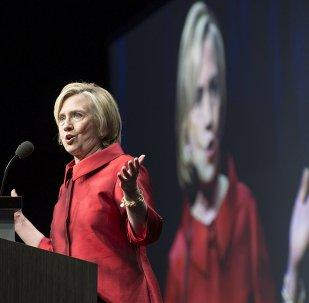 Hillary Clinton, candidata del Partido Demócrata a la presidencia de EEUU
