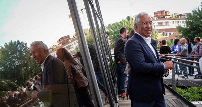 António Costa, líder del Partido Socialista de Portugal
