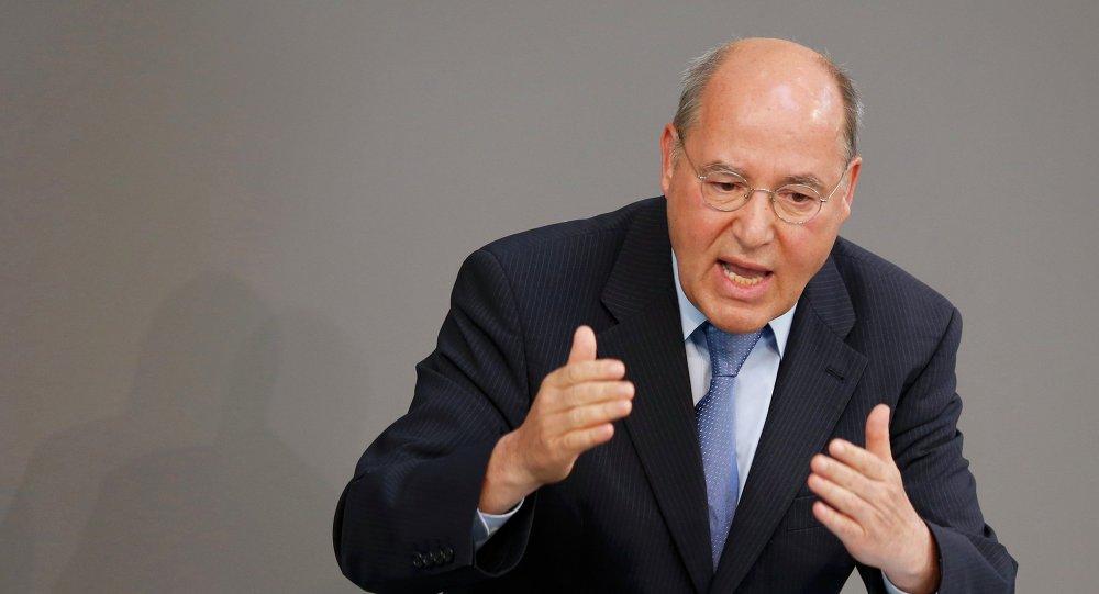 Gregor Gysi, líder del grupo parlamentario de la Izquierda alemana