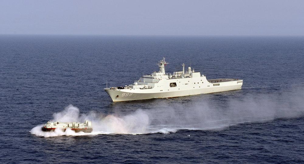 China se apodera de sonda submarina de EEUU en zona marina disputada