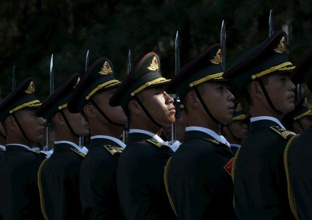 Soldados del Ejército de Liberación Popular