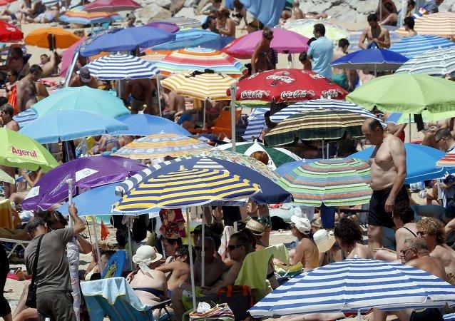 La ola de calor en España (archivo)