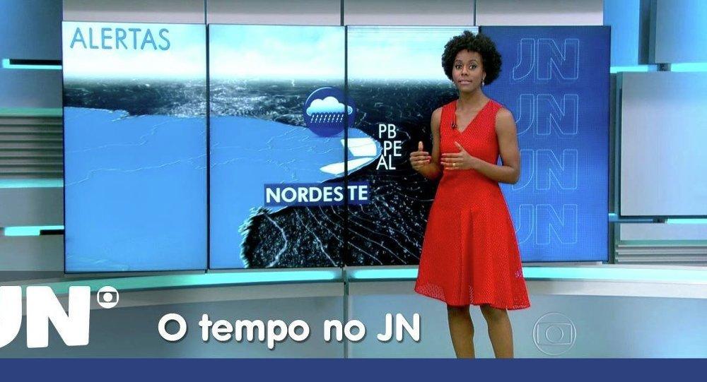 Maria Júlia Coutinho, presentadora de TV Globo