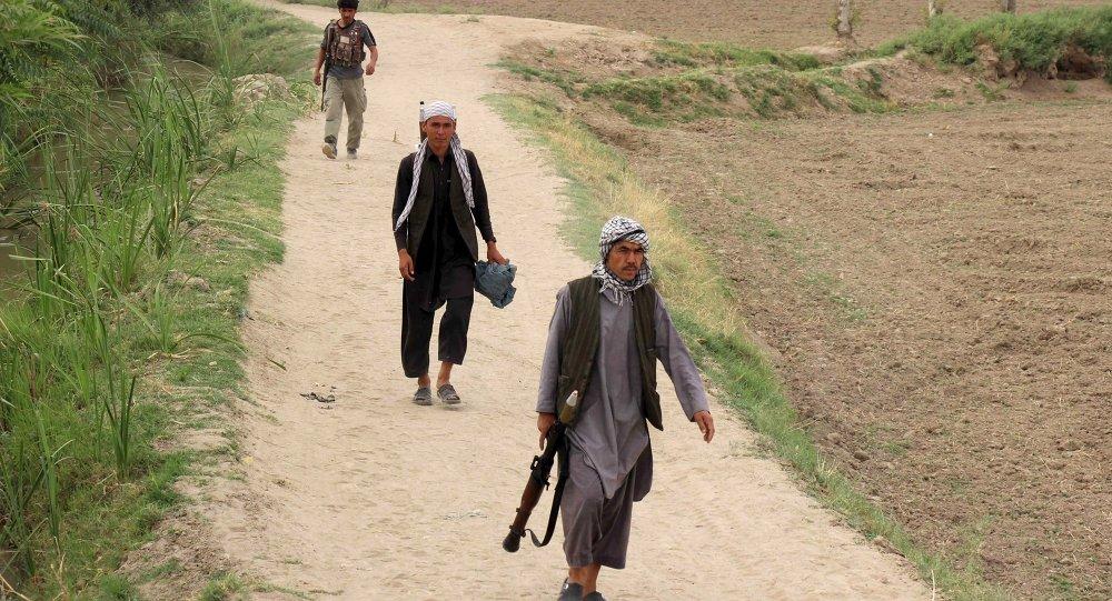Policía local de Afganistán