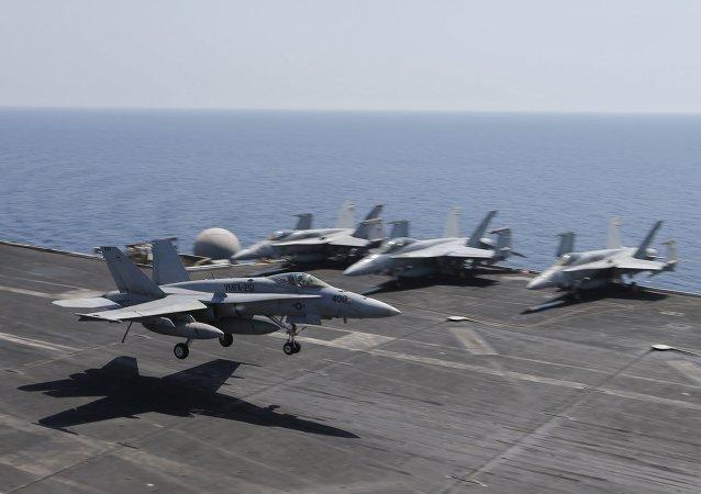 F/A-18E/F Super Hornets, aviones militares de EEUU